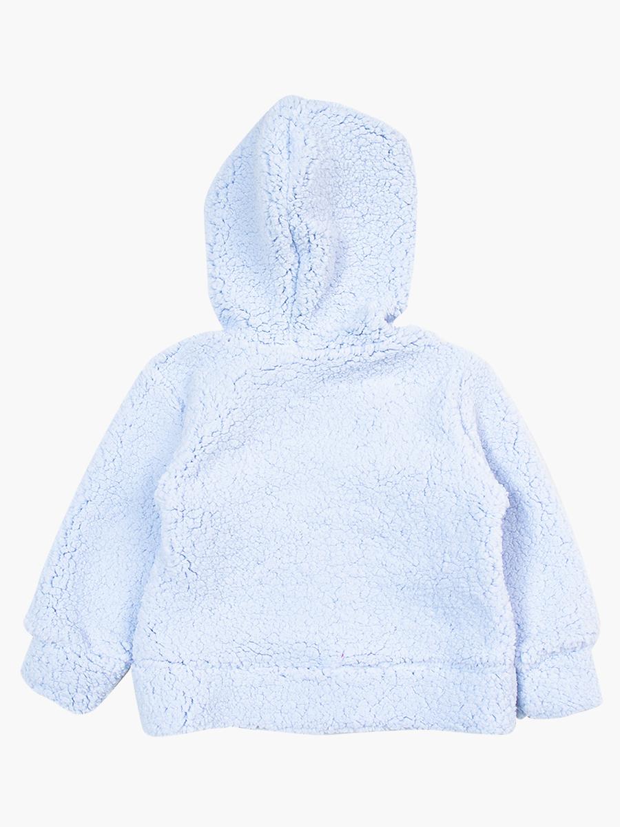 Комплект махровый детский: кофточка и штанишки, цвет: голубой