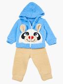 Комплект махровый детский: кофточка и штанишки