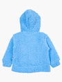Комплект махровый детский: кофточка и штанишки, цвет: синий