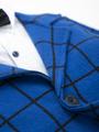 Комплект для мальчика: рубашка с бабочкой, брюки и пиджак, цвет: синий
