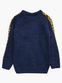 Комплект для девочки: джемпер и рейтузы, цвет: темно-синий
