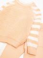 Комплект для девочки: джемпер и рейтузы, цвет: светло-розовый