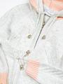 Комплект для девочки: кофта и рейтузы, цвет: светло-серый