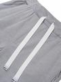 Брюки прямого силуэта со средней посадкой для мальчика, цвет: светло-серый