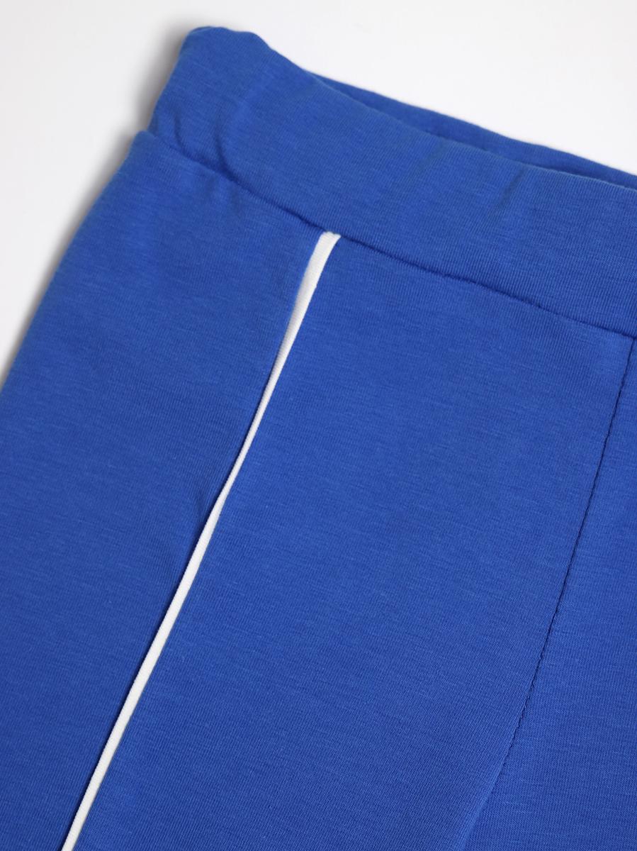 Лосины для девочки, цвет: джинсовый