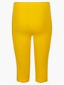 Бриджи облегающие со средней посадкой для девочки, цвет: шафрановый