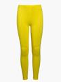 Леггинсы для девочки, цвет: желтый