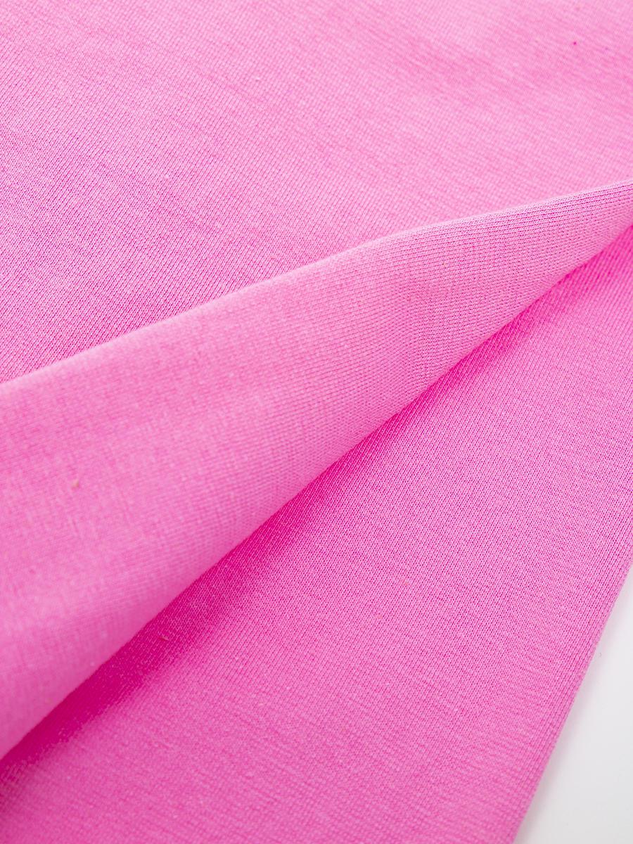 Леггинсы укороченные для девочки, цвет: светло-розовый