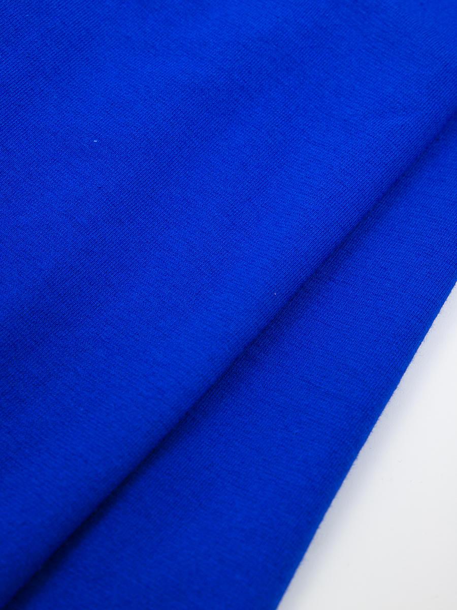 Леггинсы укороченные для девочки, цвет: васильковый