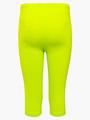 Леггинсы укороченные для девочки, цвет: салатовый