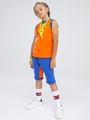 Майка для мальчика, цвет: оранжевый