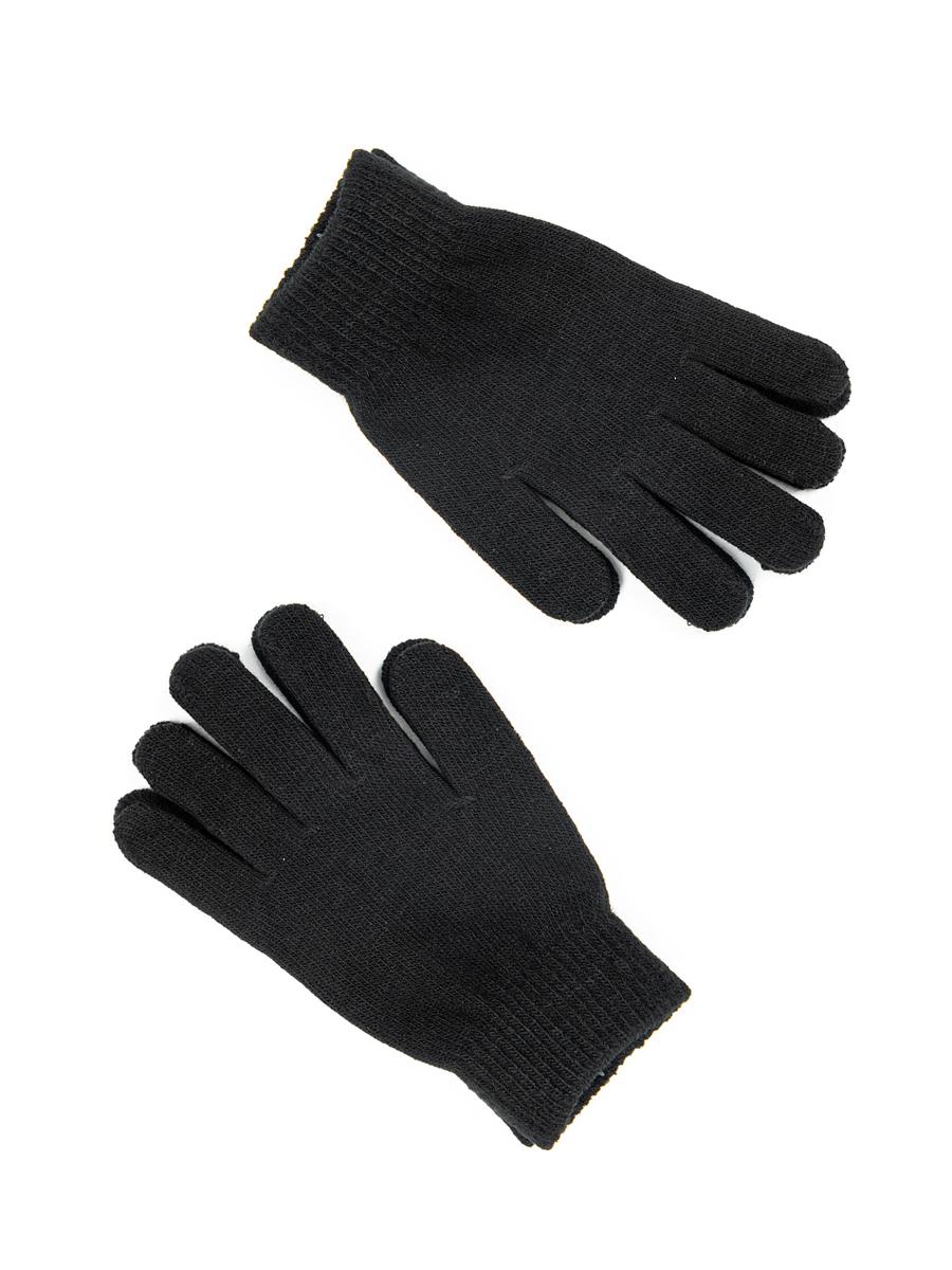 Перчатки детские, цвет: черный