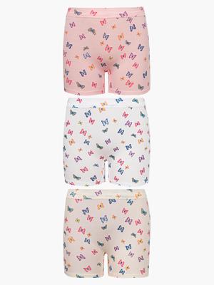 Трусы-шорты для девочек (3шт/уп)