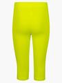 Бриджи облегающие со средней посадкой для девочки, цвет: салатовый