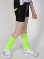 Бриджи облегающие со средней посадкой для девочки, цвет: черный