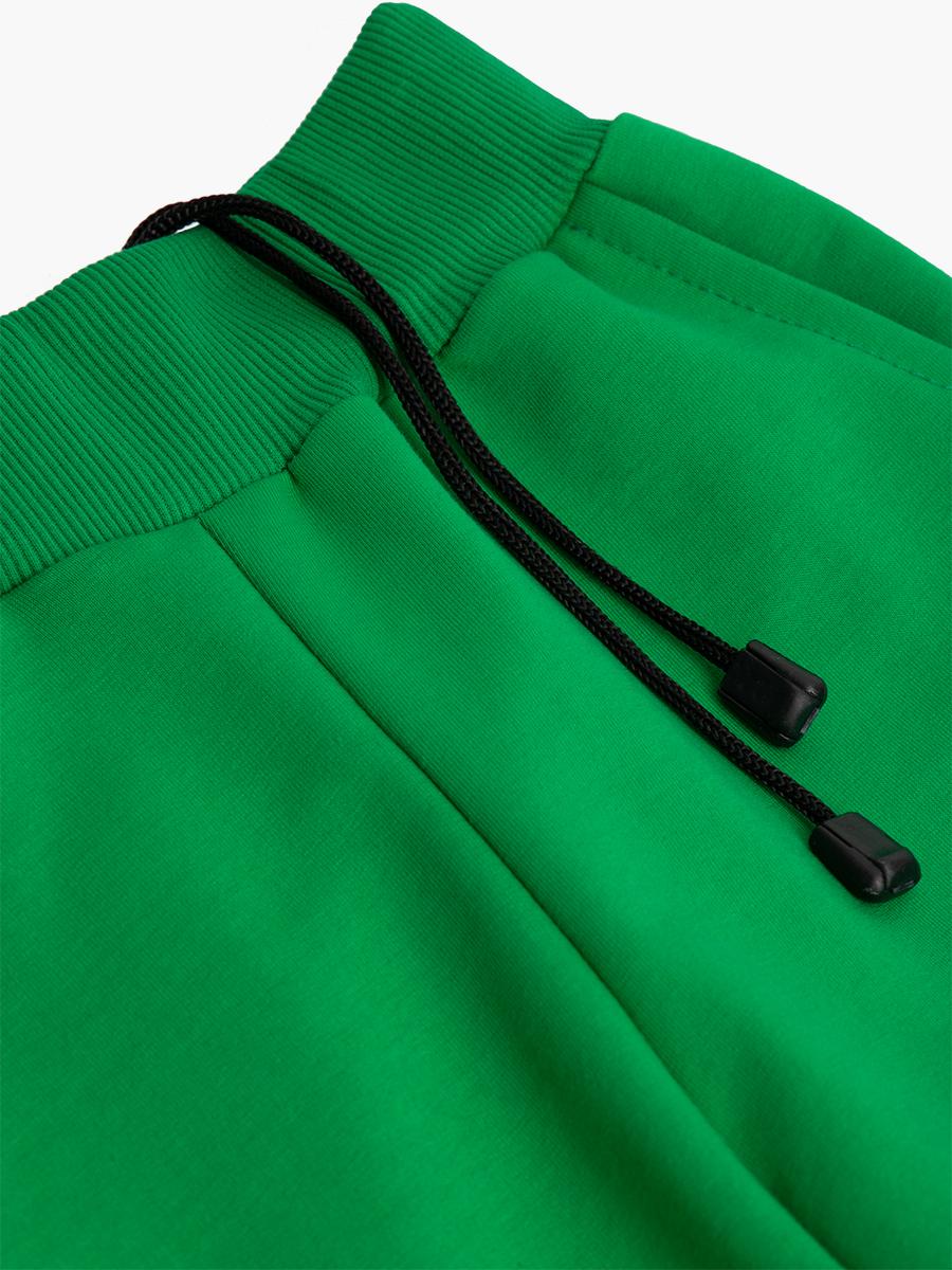 Брюки спортивные детские, цвет: зеленый