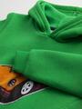 Комплект с начесом для мальчика: толстовка и штанишки, цвет: зеленый