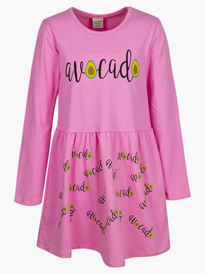 Платье приталенное с расклешенной юбкой