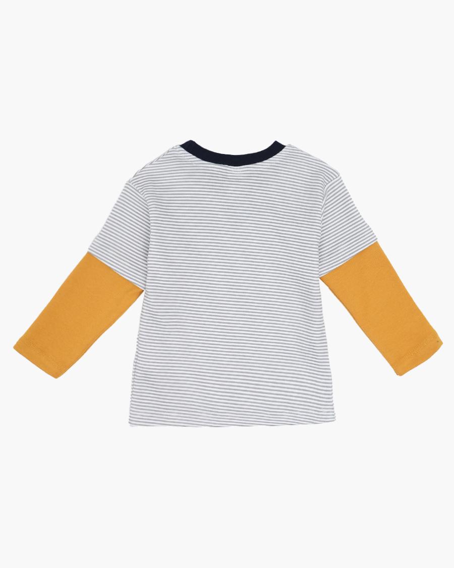 Джемпер для мальчика, цвет: светло-серый