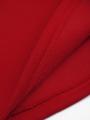 Водолазка с начесом для мальчика, цвет: красный