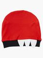Комплект для мальчика: боди, ползунки и шапочка, цвет: красный
