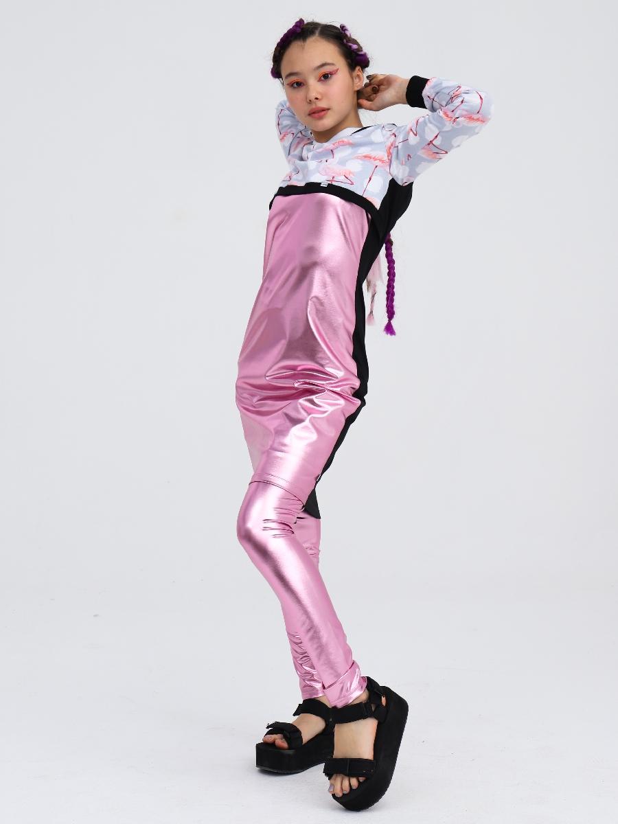 Комплект:свитшот укороченный и платье прилегающего силуэта, цвет: черный,серый