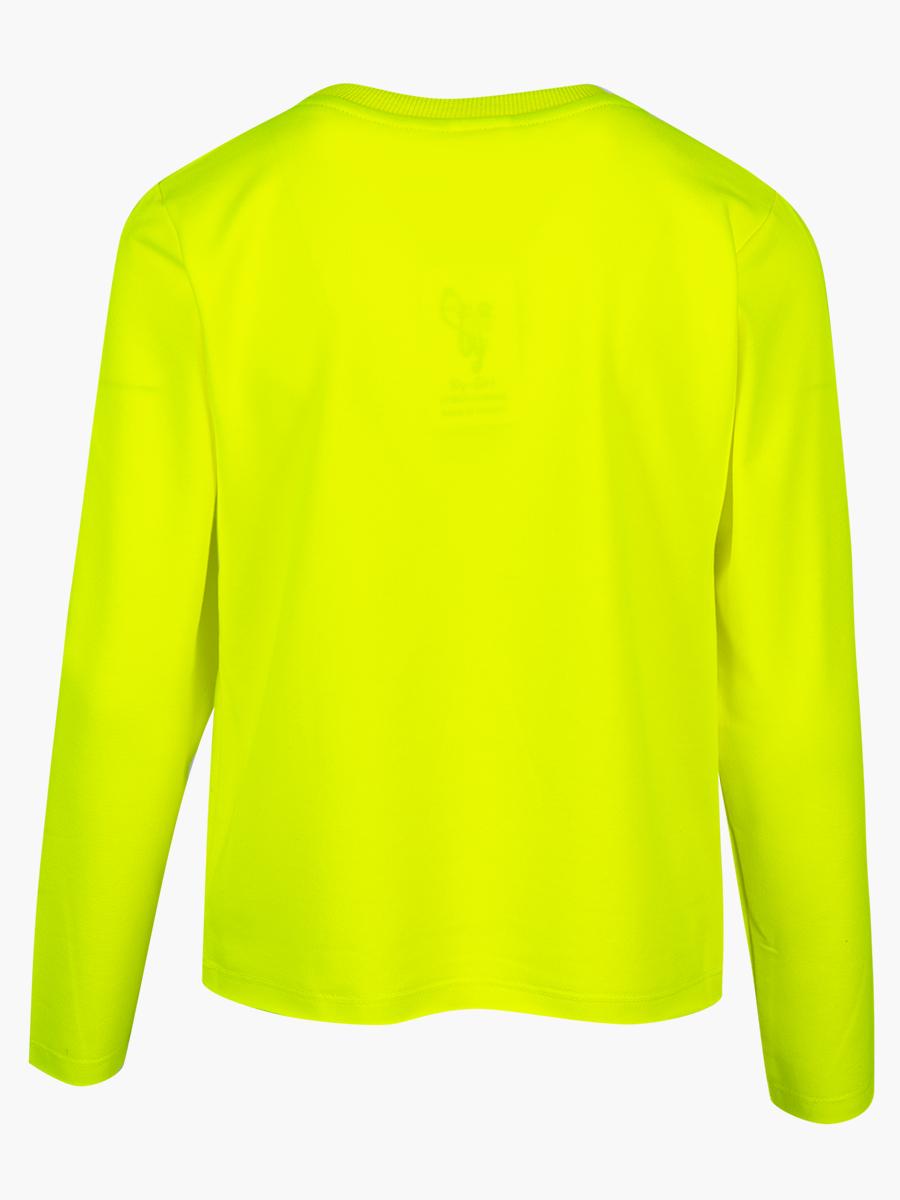 Джемпер для девочки, цвет: неон зеленый
