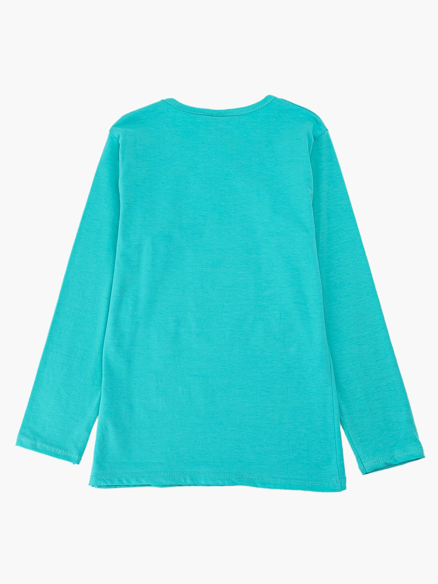 Джемпер для девочки, цвет: мятный