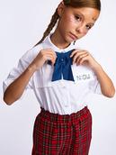 Галстук-бабочка для девочки с регулируемой застежкой.