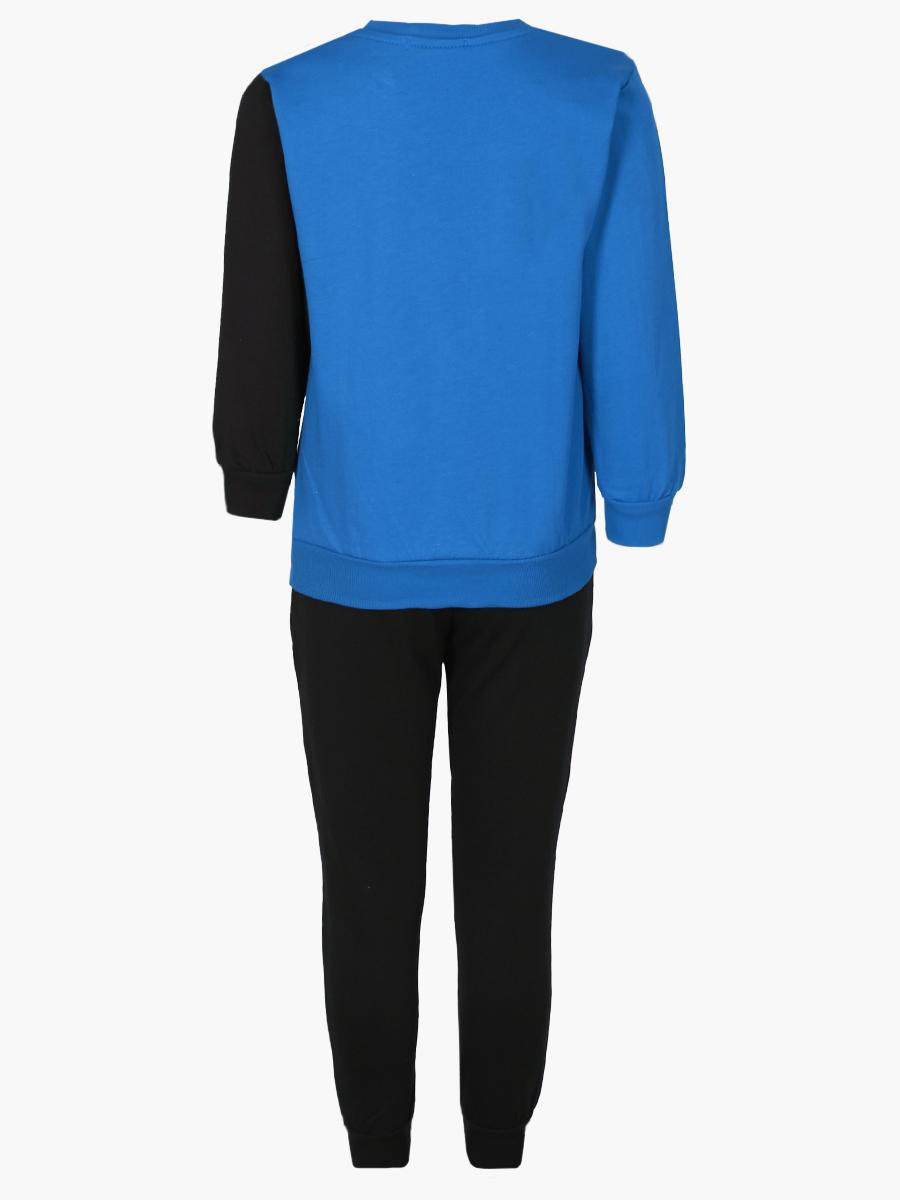 Комплект для мальчика: толстовка и штанишки, цвет: синий