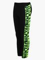 Комплект для девочки: толстовка и штанишки, цвет: неон зеленый