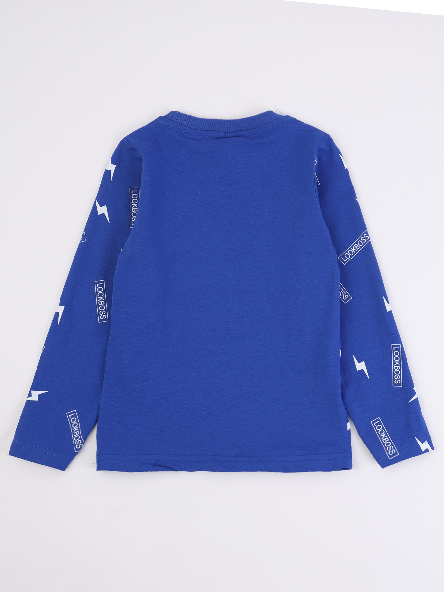 Джемпер для мальчика, цвет: синий