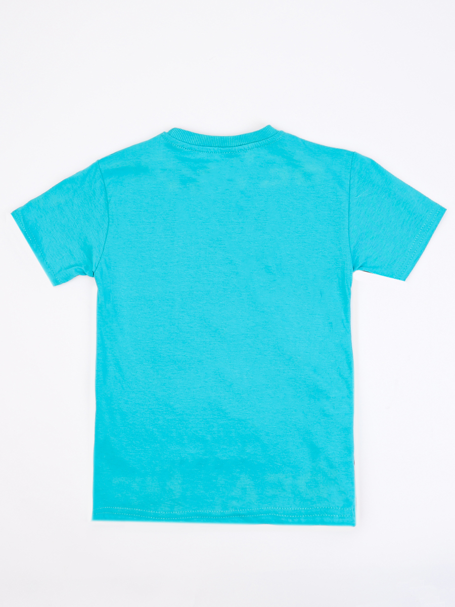 Джемпер для мальчика, цвет: бирюзовый