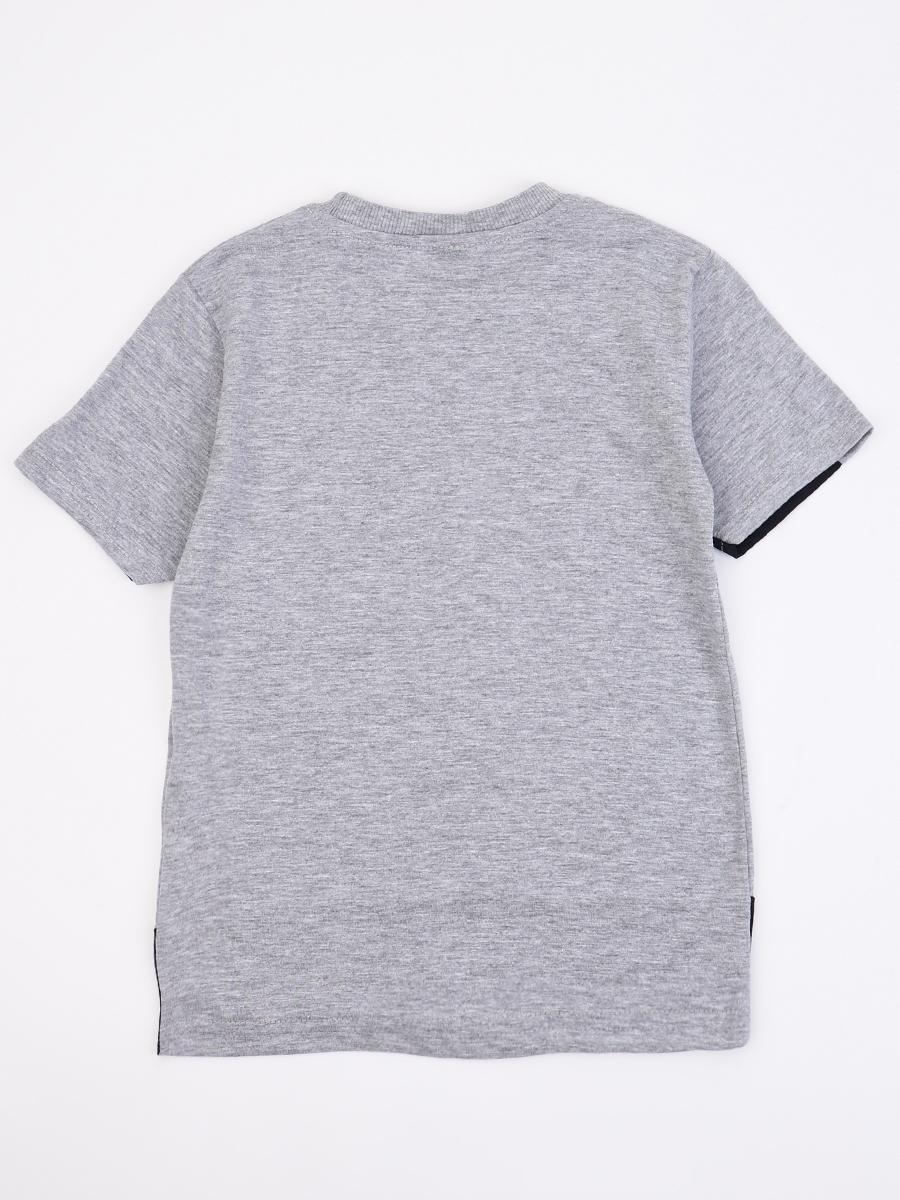 Джемпер для мальчика, цвет: серый меланж