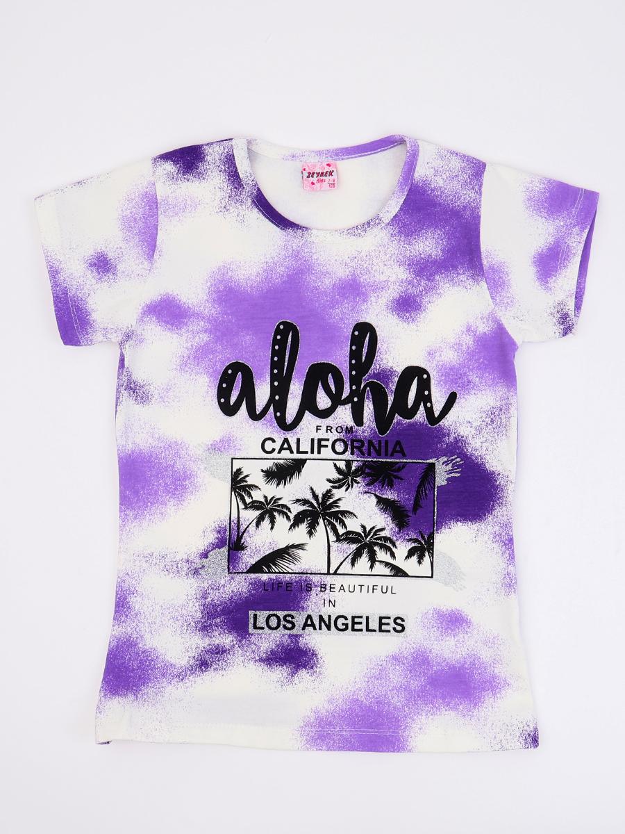 Джемпер для девочки, цвет: фиолетовый
