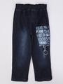 Комплект для мальчика: рубашка, брюки джинсовые, бабочка, цвет: мятный