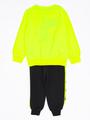 Комплект для мальчика: толстовка и штанишки, цвет: неон жёлтый