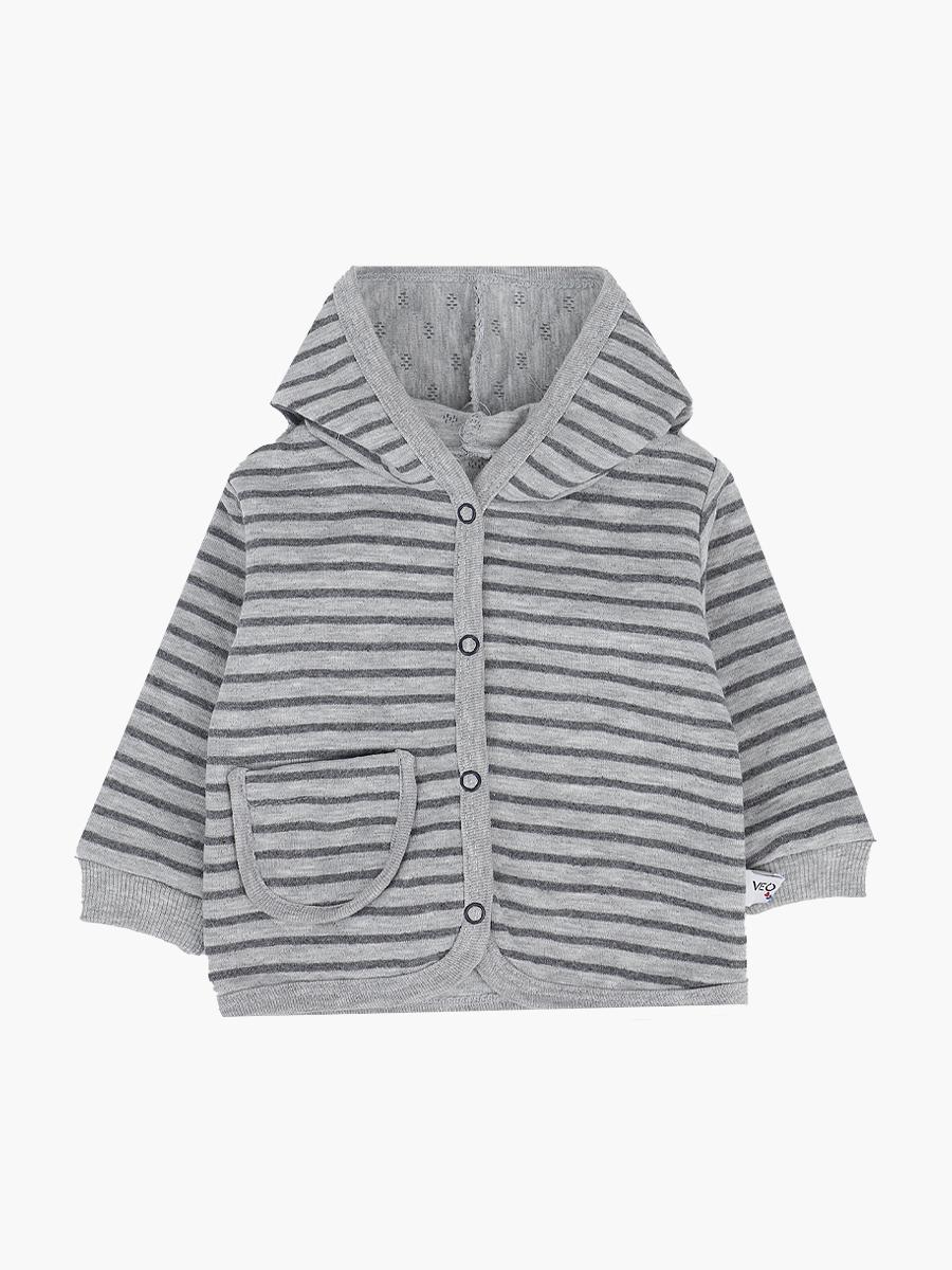 Кофточка детская, цвет: серый