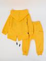 Костюм спортивный для мальчика, цвет: желтый