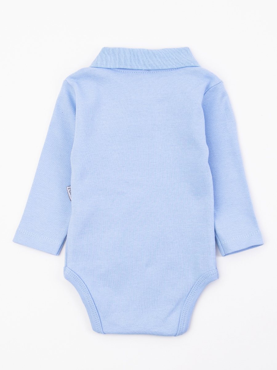 Боди для мальчика, цвет: голубой