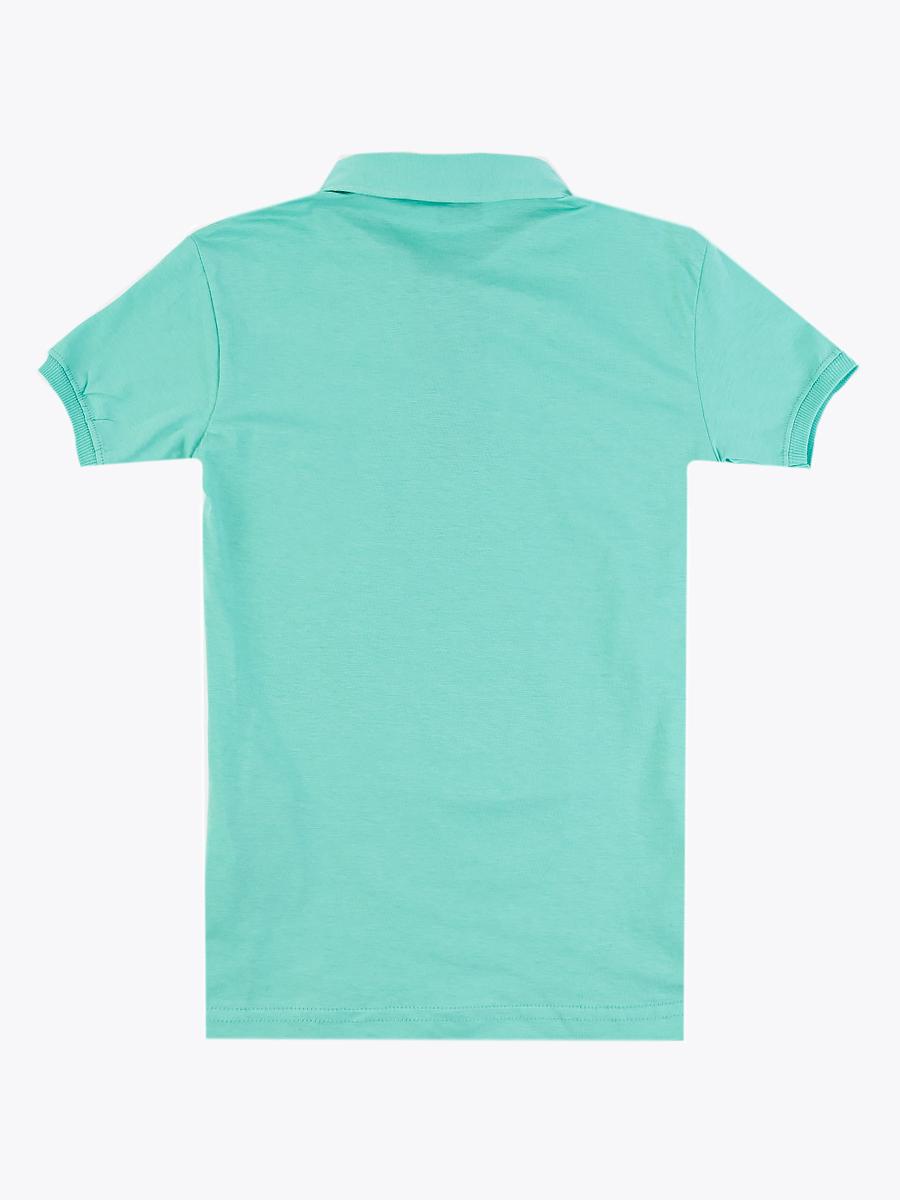 Поло для мальчика, цвет: мятный