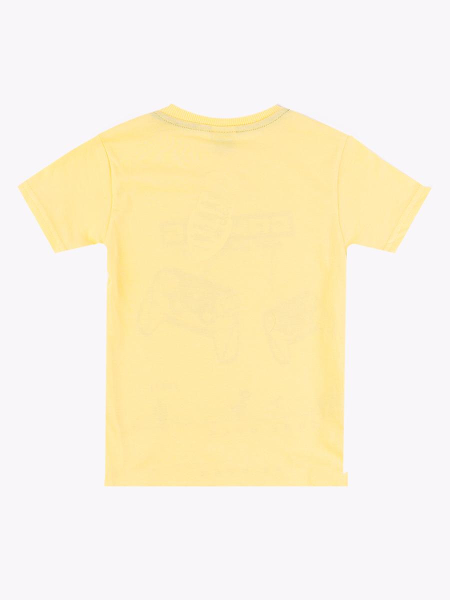 Футболка для мальчика, цвет: желтый