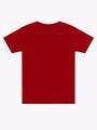Футболка для мальчика, цвет: бордовый