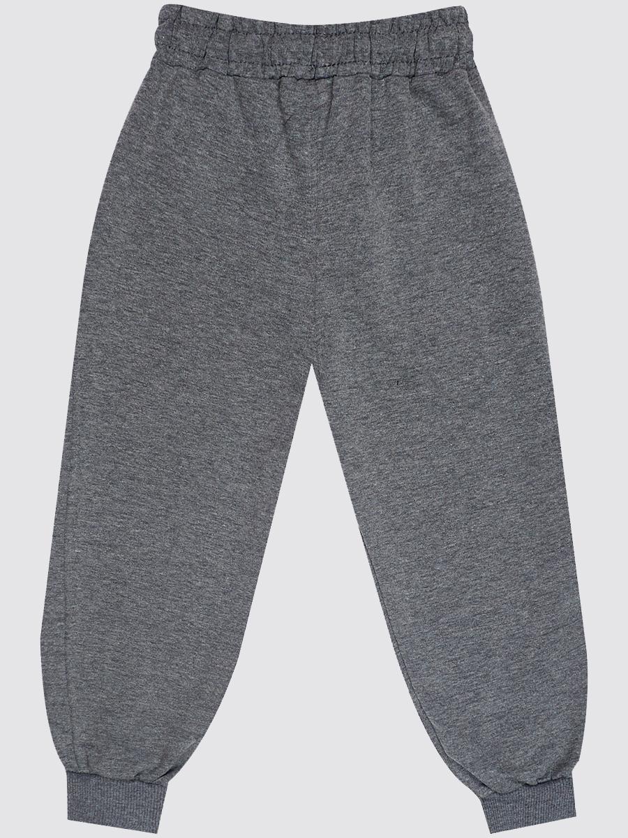 Брюки спортивные для мальчика, цвет: серый