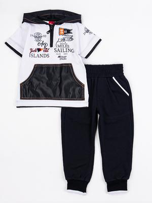 Комплект для мальчика: футболка и брюки спортивные