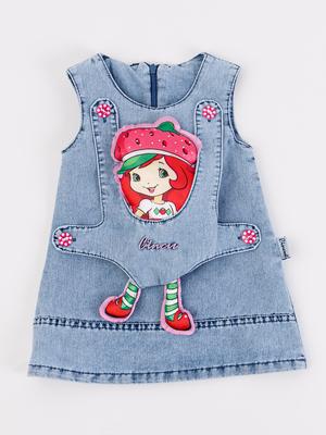 Сарафан джинсовый с игрушкой-куклой
