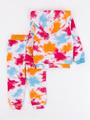 Костюм спортивный: толстовка и брюки для девочки, цвет: оранжевый