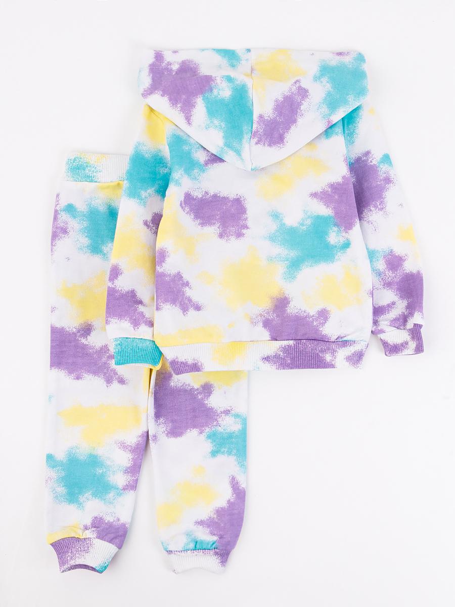 Костюм спортивный: толстовка и брюки для девочки, цвет: мятный