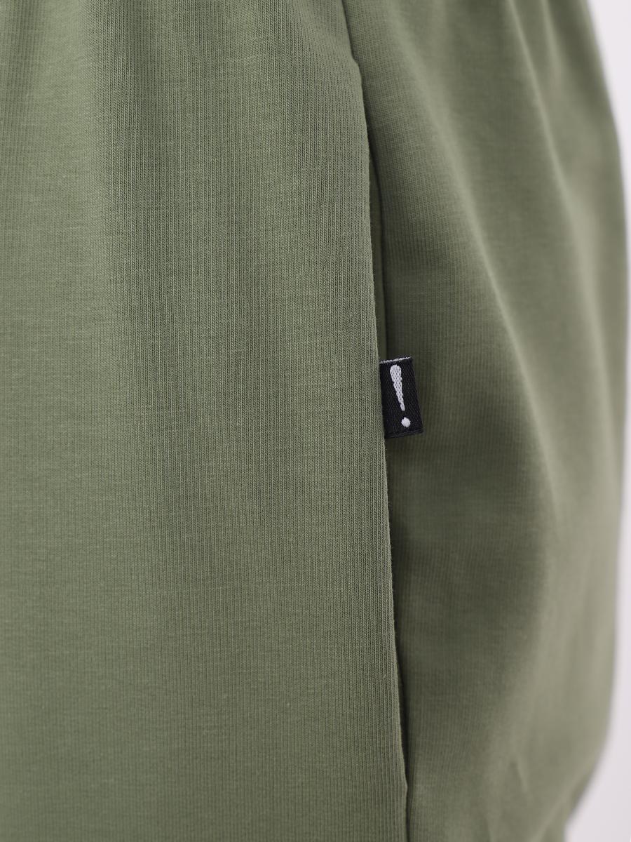 Костюм спортивный:свитшот и брюки, цвет: фисташковый