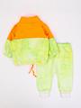 Комплект детский: толстовка и штанишки, цвет: неон оранжевый